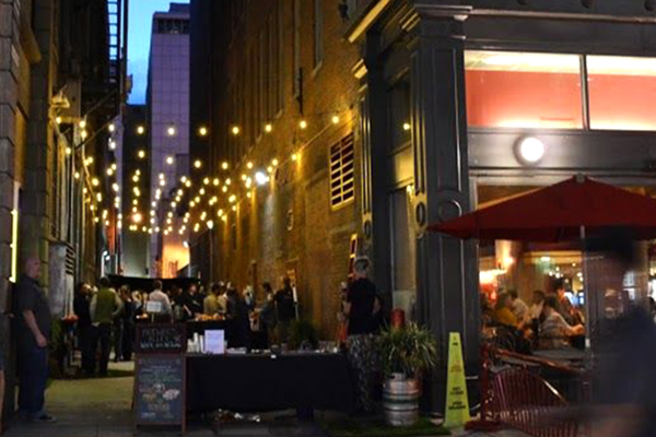 alley follow up pop up brewery