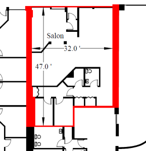 Floorplan 1,1775 sq ft