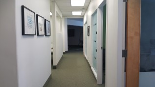 hallway/offices