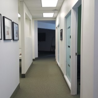 hallway/offices