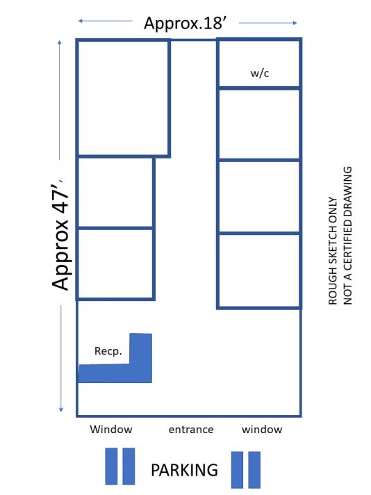 rough sketch floorplan