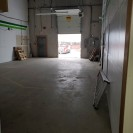 warehouse with dock level loading door